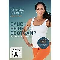 Barbara Becker präsentiert das Bauch, Beine, Po-Bootcamp Miami / New York [Alemania] [DVD]