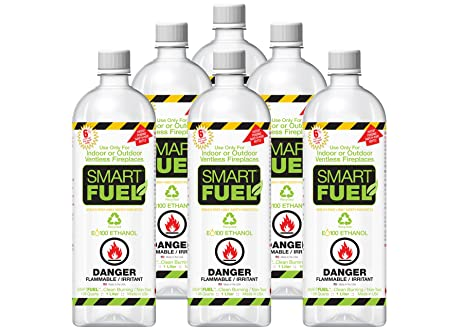Buy Smartfuel Pourable Liquid Bio-ethanol Fireplace Fuel 1/2 Case (6 Liters): Fire Starters - Amazon.com ? FREE DELIVERY possible on eligible purchases