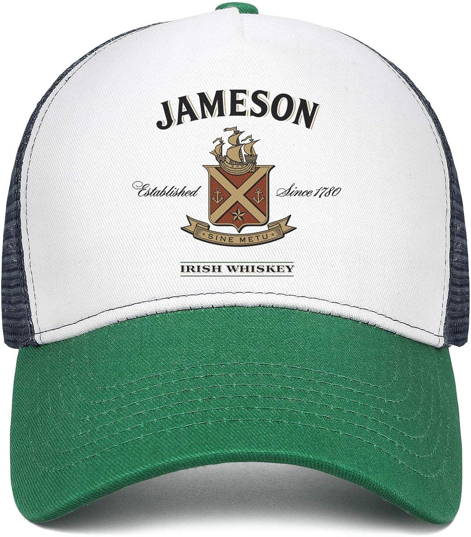 Cap Retro Hat Hiking Caps HIRGOEE Men Womens Jameson-Irish-Whiskey-Sign