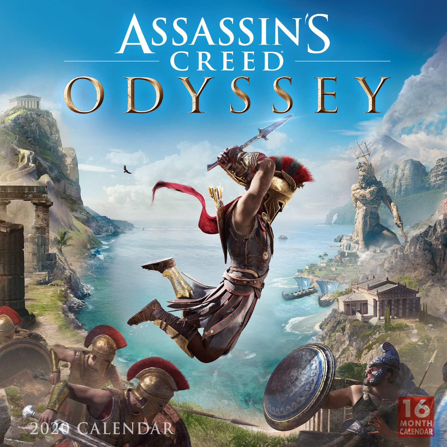 2020 Assassins Creed 16-Month Wall Calendar: By Sellers ...