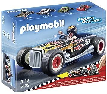 Playmobil Coches - Heat Racer, Playsets de Figuras de Juguete, Multicolor, 25 x 7,5 x 20 cm, (5172)