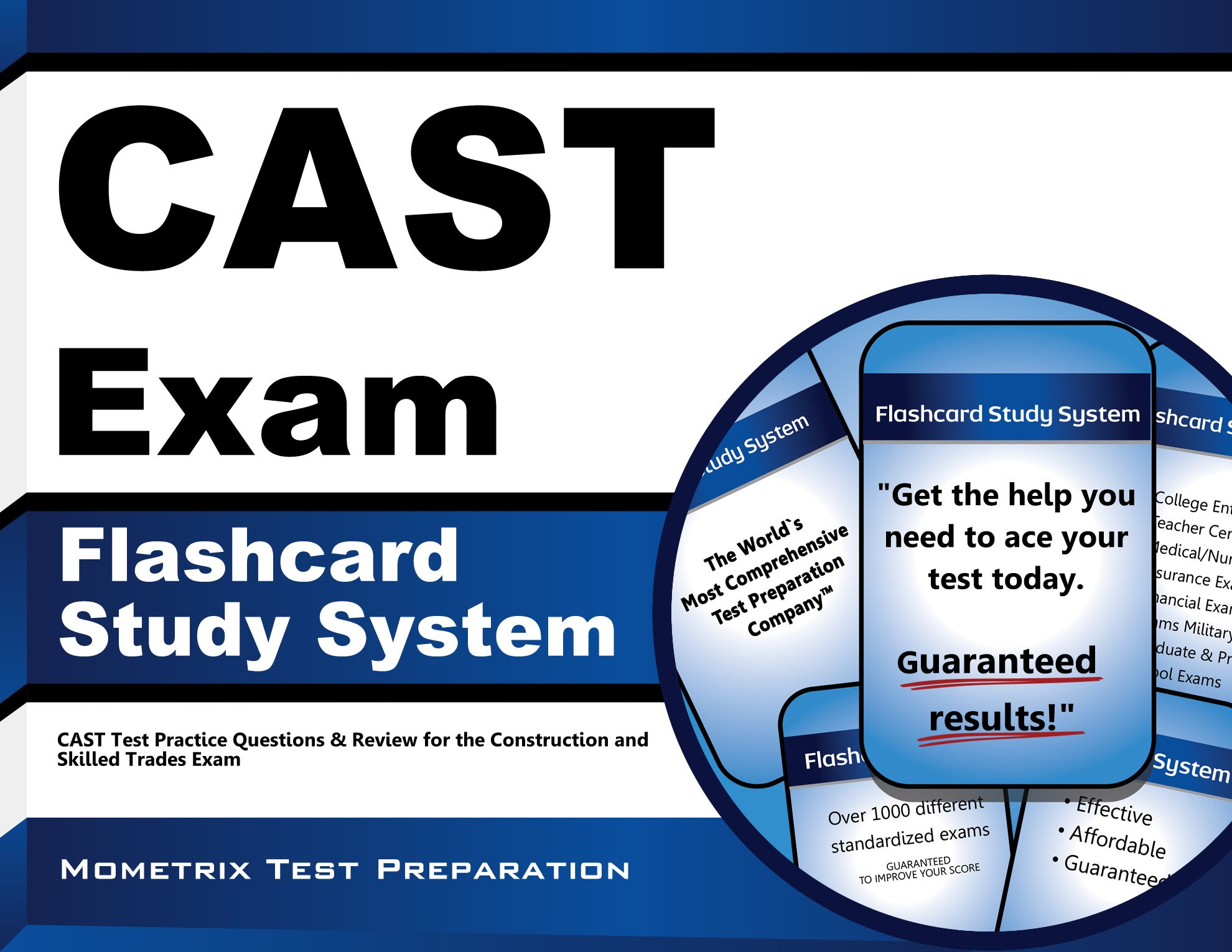 Download CAST Exam Flashcard Study System: CAST Test Practice Questions & Review for the Construction and Skilled Trades Exam pdf