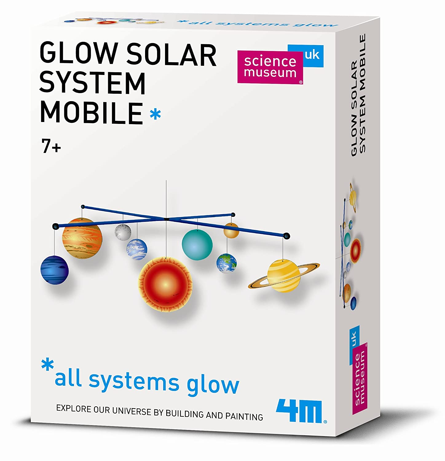 Science Museum Solar System Mobile Making Kit: Amazon.co.uk: Toys ...