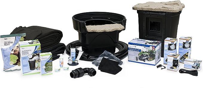 Amazon Com Aquascape Complete Pond Kit 11 Feet X 16 Feet Medium Aquasurgepro 2000 4000 Pump Garden Outdoor