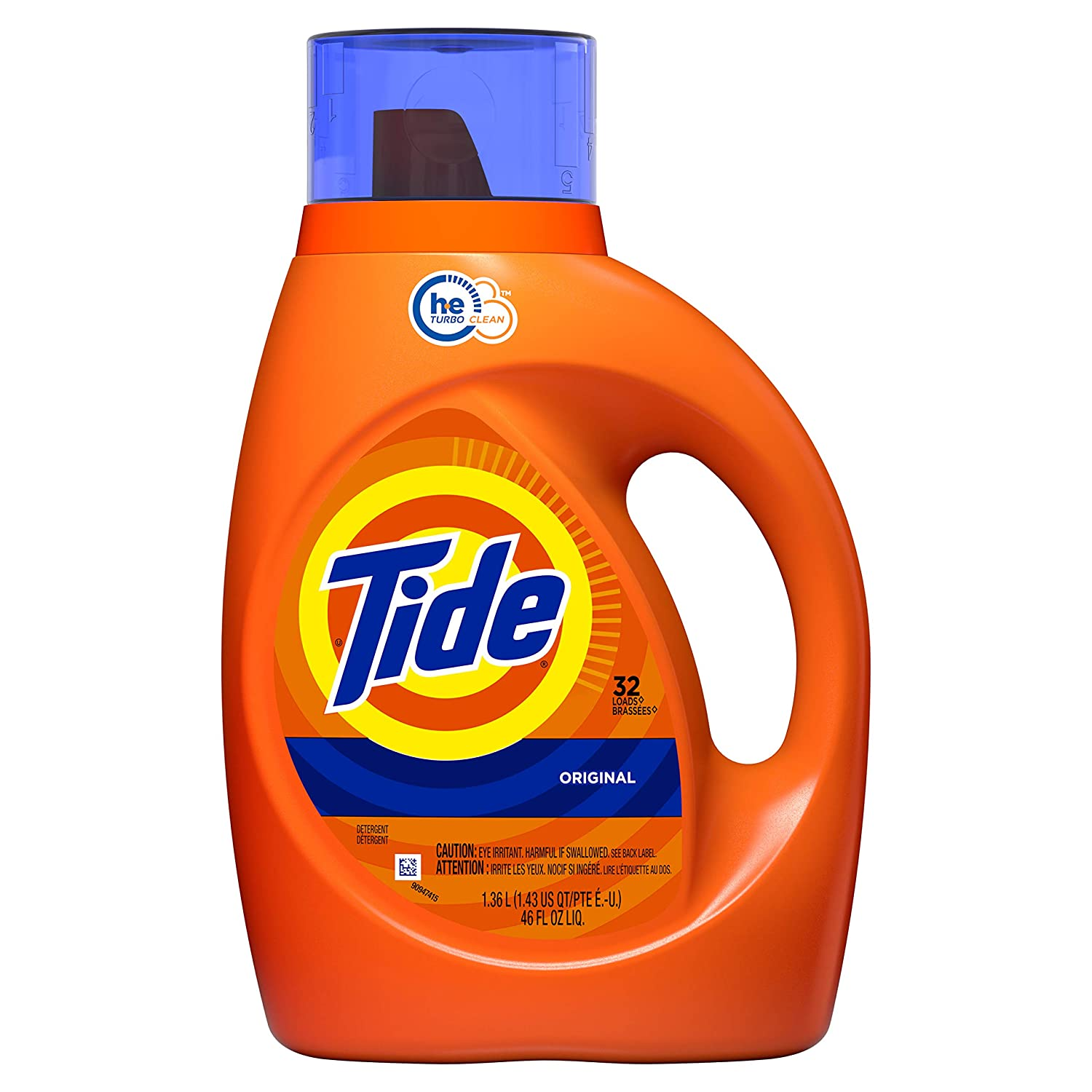 Tide Liquid Laundry Detergent, Original, 32 Loads, 46 Fl Oz