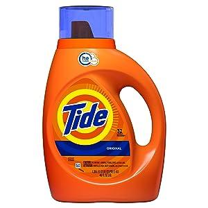 Tide Liquid Laundry Detergent, Original, 32 Loads, 46 Fl Oz