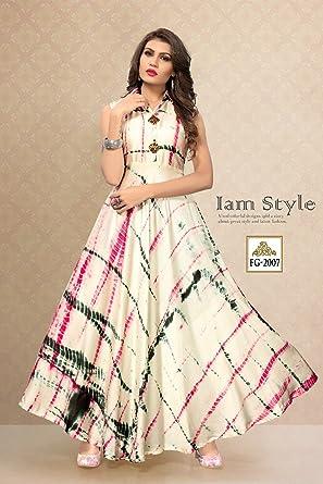 bf152ab5c61 Infinity Enterprise Women s Heavy Rayon Dress Material  Amazon.in ...