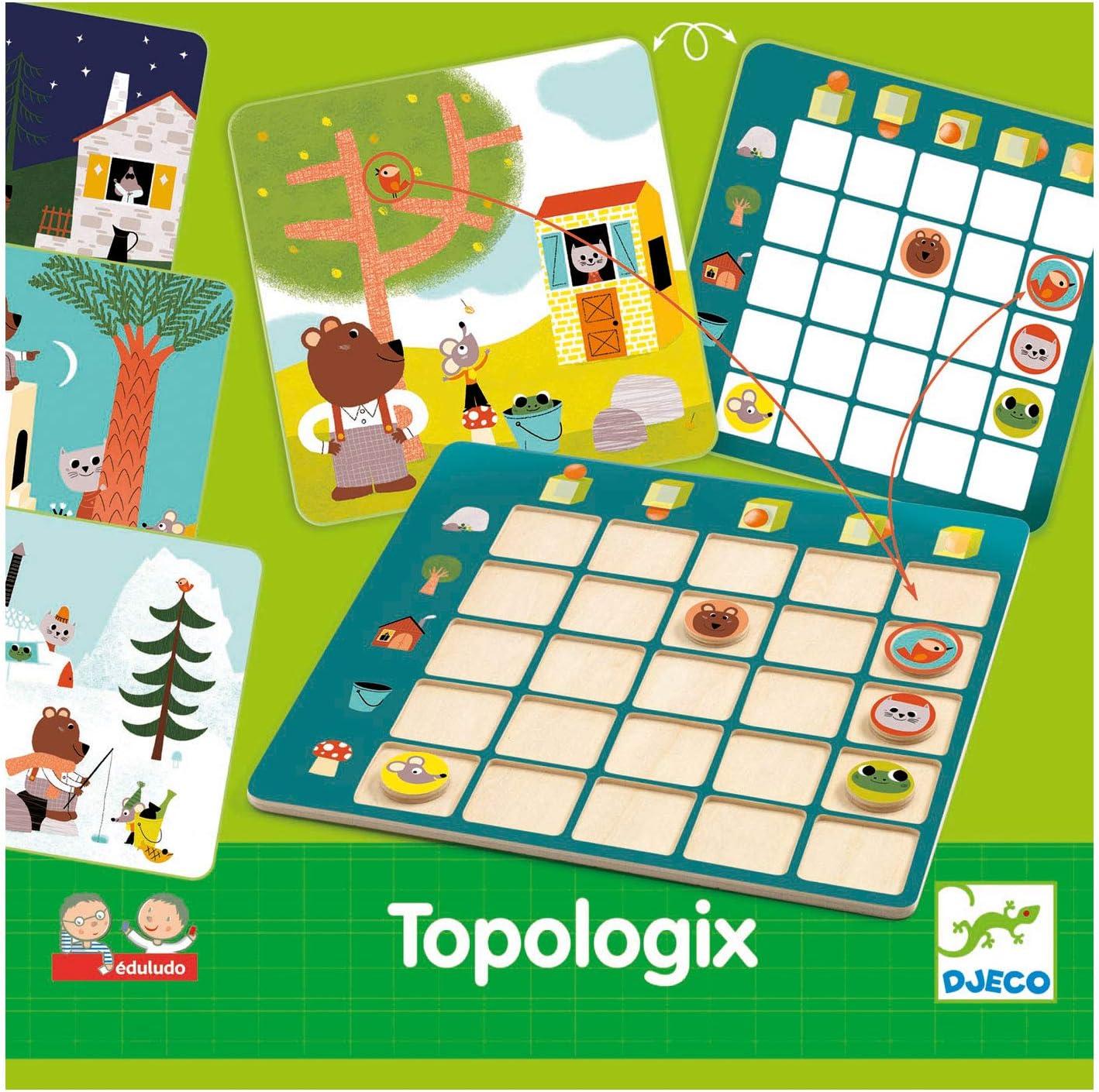 DJECO- Juegos de acción y reflejosJuegos educativosDJECOEduludo Topologix, (DJ08354): Amazon.es: Juguetes y juegos