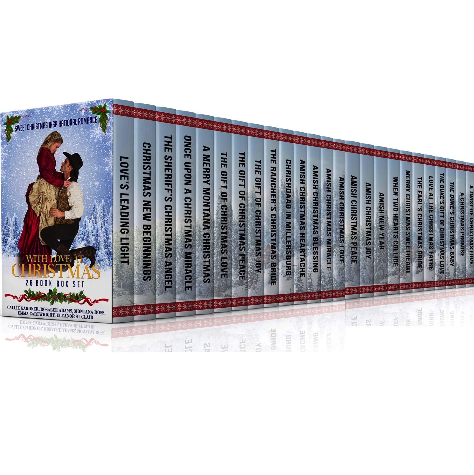 With Love At Christmas  26 Book Bumper Box Set Of Sweet Clean Christmas Romance Stories  Mail Order Bride Historical Romance Western Romance Regency ... Inspirational Romance  English Edition