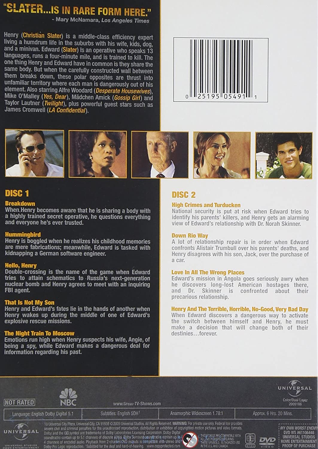 My Own Worst Enemy The Complete Series Amazonde Dvd