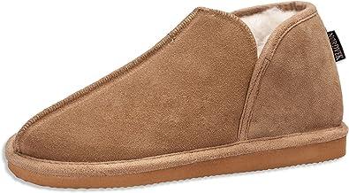 Nordvek Mens Sheepskin Slippers - Soft