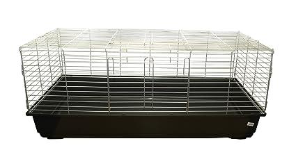 Banny 3 - Jaula para conejos/cobayas, 120 x 59 x 43 cm: Amazon.es ...