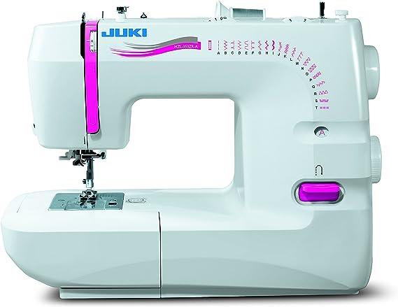 JUKI máquina de Coser mecánica, Metal, Blanco, 41 x 17,7 x 30,8 cm: Amazon.es: Hogar