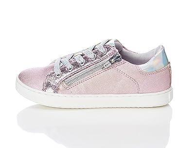 RED WAGON Mädchen Sneaker mit Metallic-Look, Pink (Pink), 26.5 EU