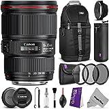Canon EF 16-35mm f/4L IS USM Lens w/ Essential Bundle - Includes: Camera Sling Backpack, Altura Photo UV-CPL-ND4, Lens Hood, Camera Cleaning Set