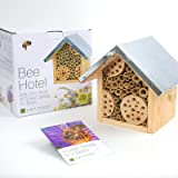 Bee Hotel & Flower Seeds for Bees by Plant Theatre - Excellent Gift Idea
