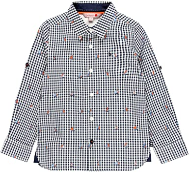 boboli Camisa popelín de niño: Amazon.es: Ropa y accesorios