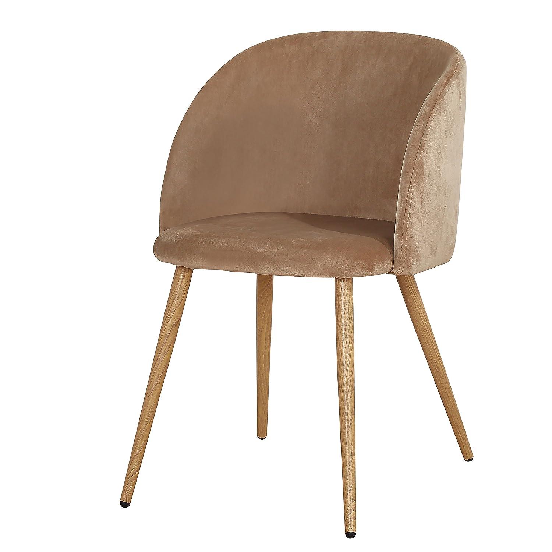 Stühle Stuhl Set Küchenstühle Esszimmerstühle Hellbraun8 Retro OyNn0vm8w