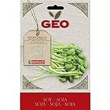 Geo ZSO0103 Soia Semi da Germoglio, Marrone