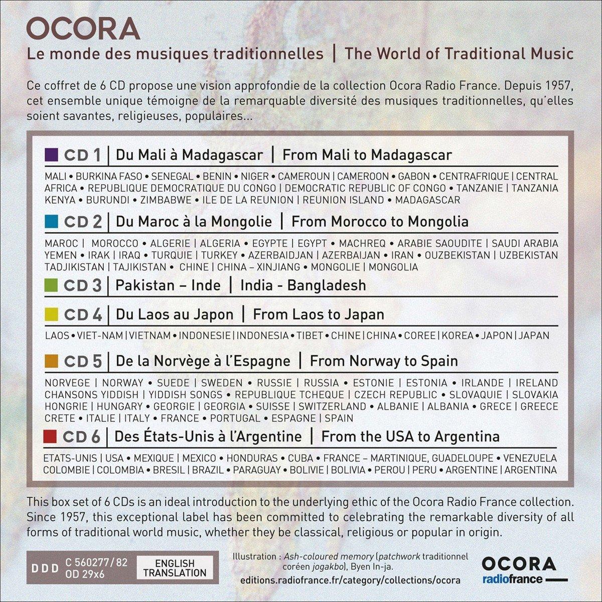 Le Monde Des Musiques Traditionnelles Divers Artistes
