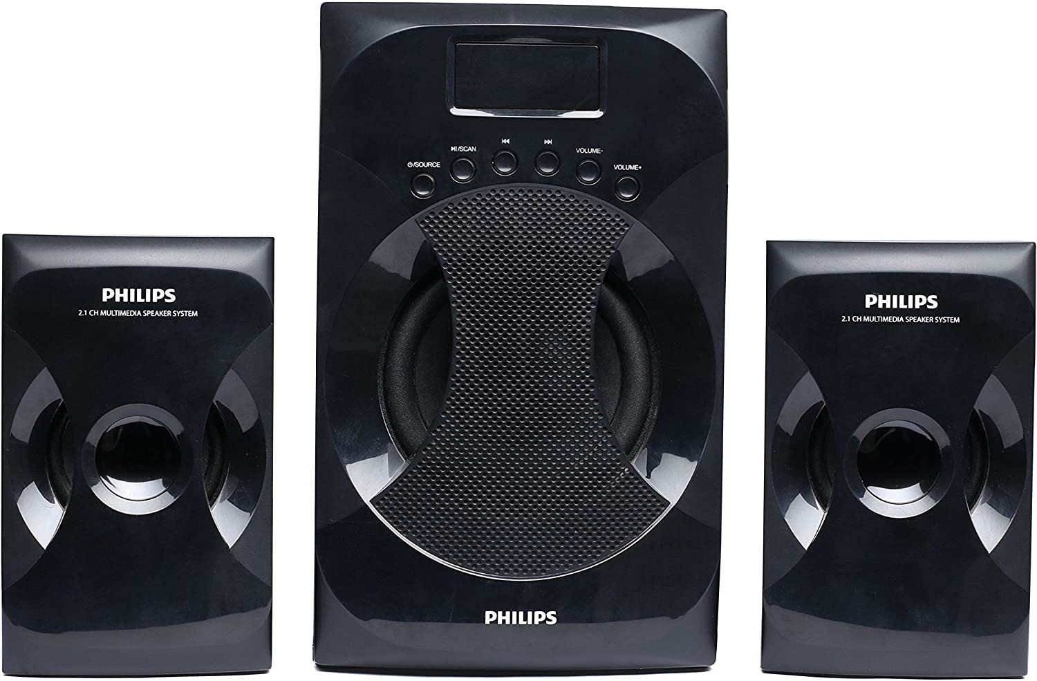 Philips Mms 4040f 94 21 Channel Multimedia Speaker System Black And Cheap Audio Systems 32w Hi Fi Amplifier Circuit Diagram Price Buy Online In