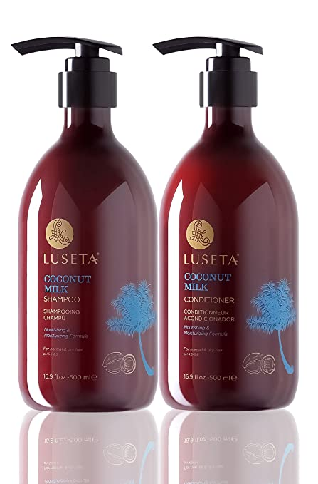 Luseta Coconut Milk Shampoo & Conditioner Set 2, 16.9 oz.