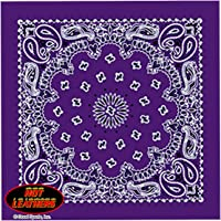 "Bikers Bandanas Collection Original Design, 21"" x 21"""