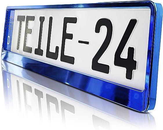 2x Qualité Support de plaque d/'immatriculation Velcro unsichbar Pour l/'UE Indicateur 30 à 52 cm