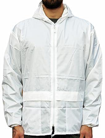 WWK   WorkWear King Mens Cagoule Kagool Lightweight Unisex Kagoul Rain Coat  Jacket Mac  Amazon.co.uk  Clothing 6ff2706586