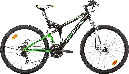 Bikesport Hunter Bicicleta de Montaña con Doble Suspensión, 21 ...