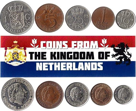 5 Monedas Diferentes - Moneda extranjera española Antigua y ...
