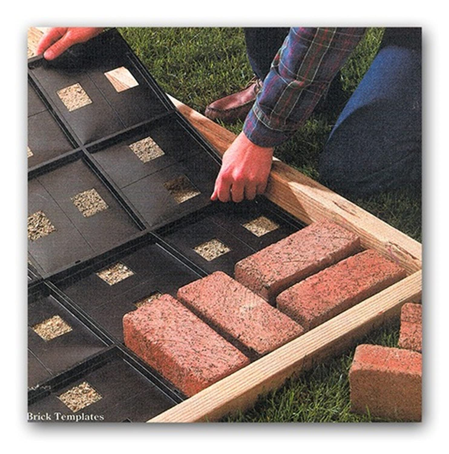 Merveilleux Amazon.com : Argee Patio Pal Brick Laying Guides, Covers Approx. 20 Square  Feet RG191/10 : Garden U0026 Outdoor
