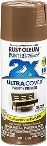 Rust-Oleum 249847 Painter's Touch Multi Purpose Spray Paint, 12-Ounce, Chestnut - 6 Pack