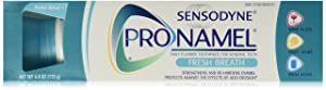Sensodyne Pronamel Fresh Breath Anti-cavity Fluoride Toothpaste Fresh Breath - 4 Ounces (Pack of 3)