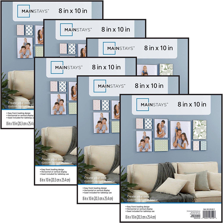 Amazon.com - Mainstays 8x10 Picture Frames, Set of 6 -