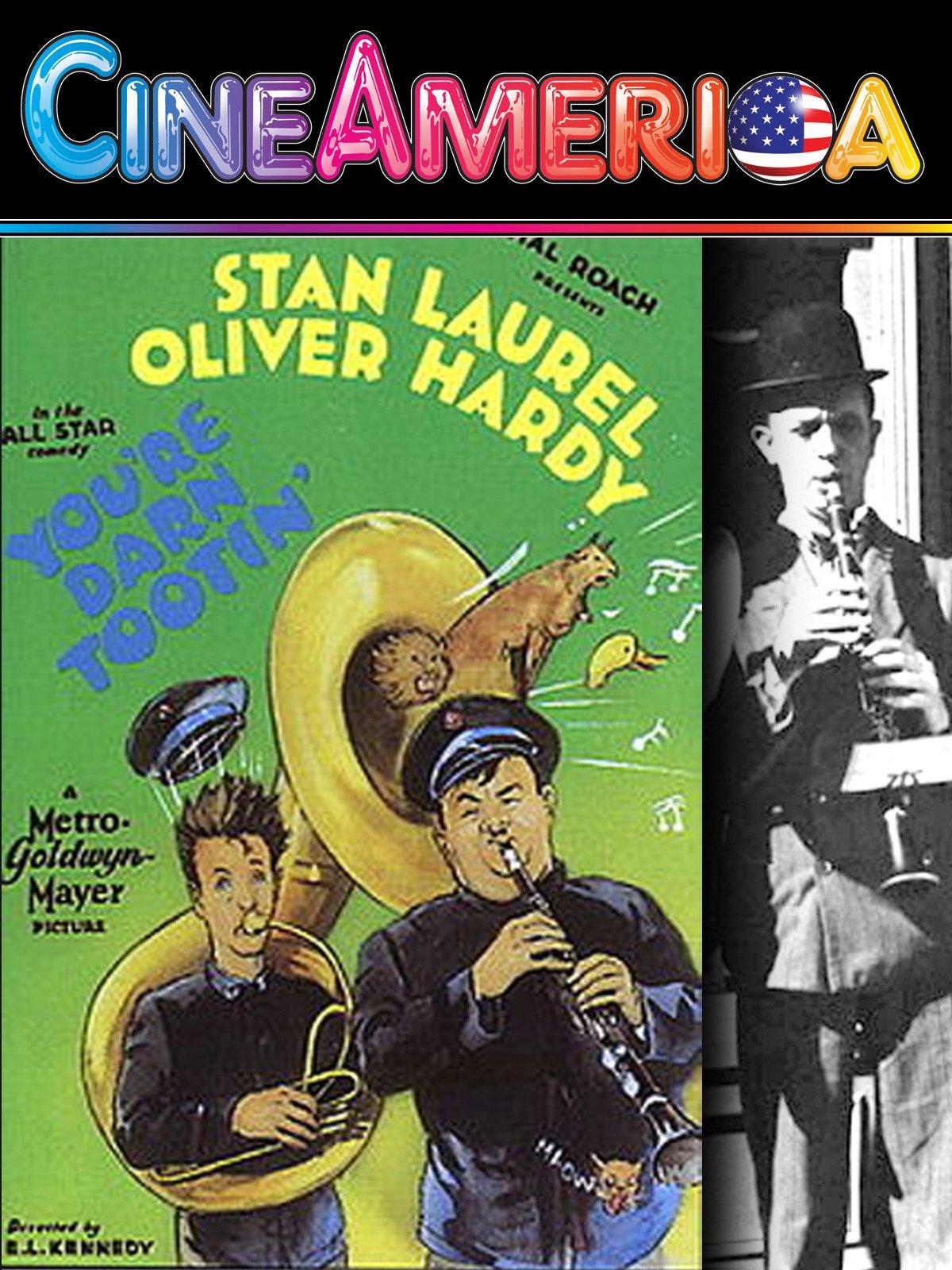 Laurel and Hardy You're Darn Tootin on Amazon Prime Video UK