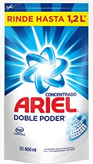 Ariel Detergente Liquido Concentrado 600ml, color, 600 ml, pack of/paquete de