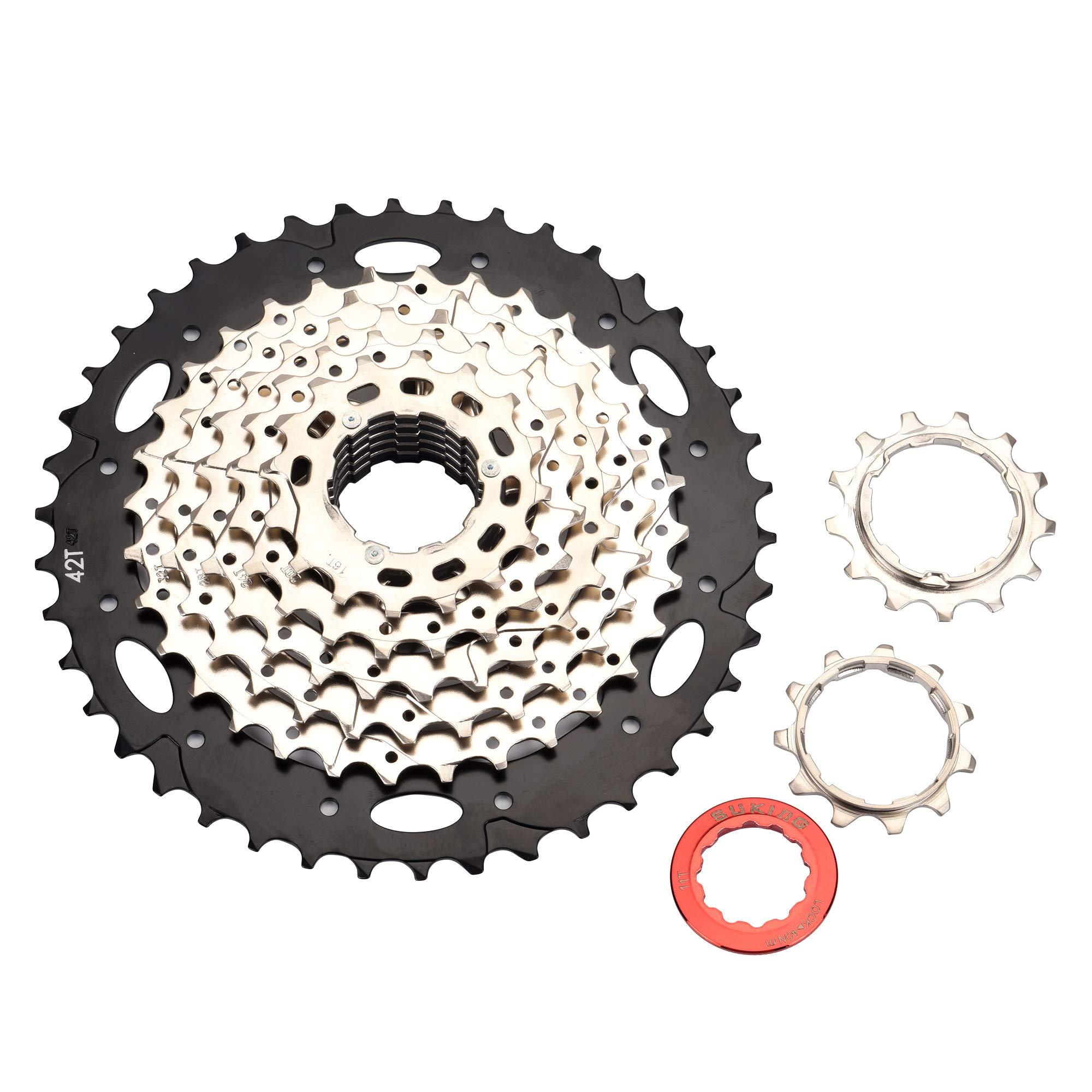 BESNIN Bike Cassette & Freewheels 8S 11-42T