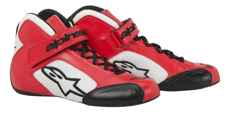 2712013-32-10 Red//White Size-10 Tech 1-K Karting Shoes Alpinestars