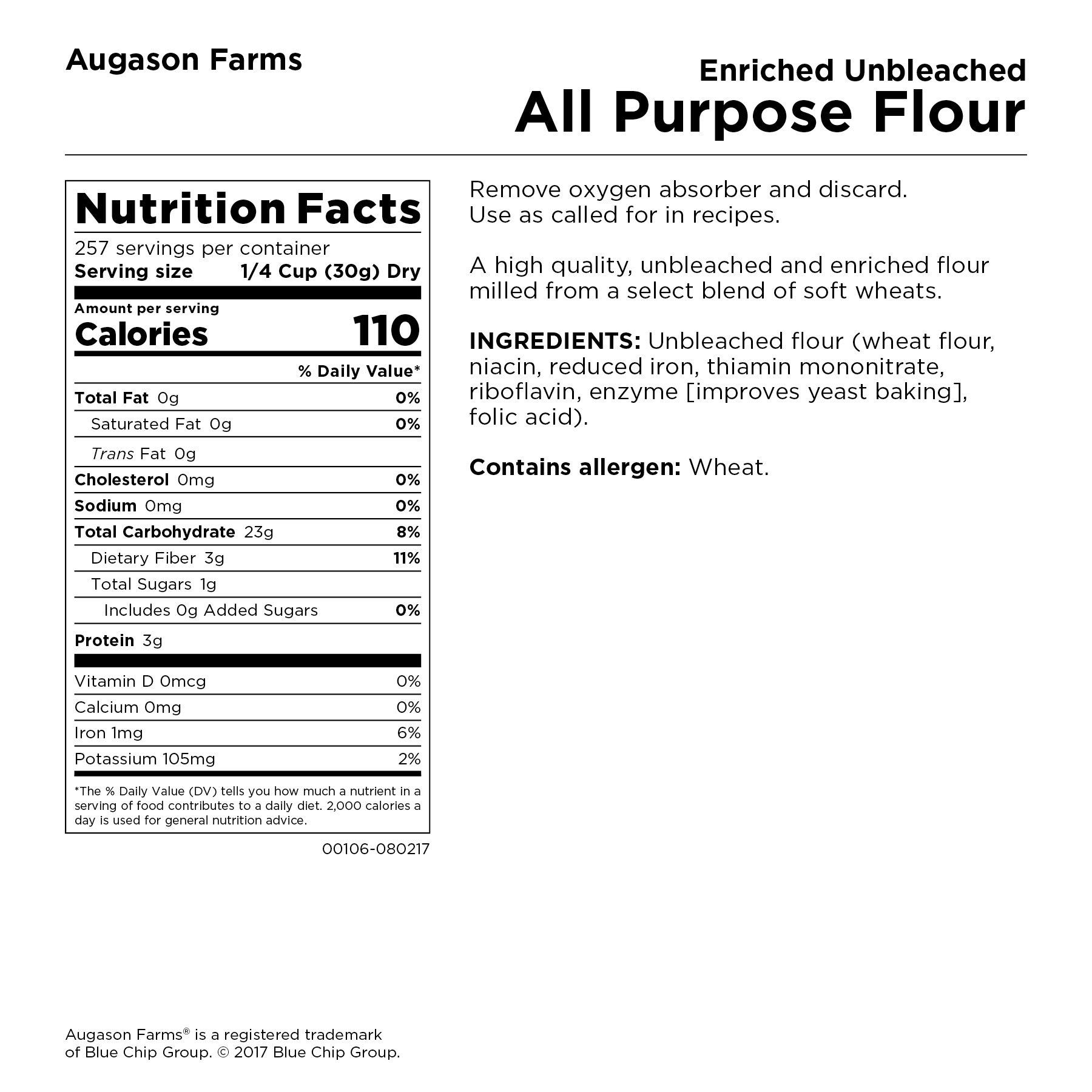 Augason Farms Enriched Unbleached All Purpose Flour by Augason Farms (Image #7)