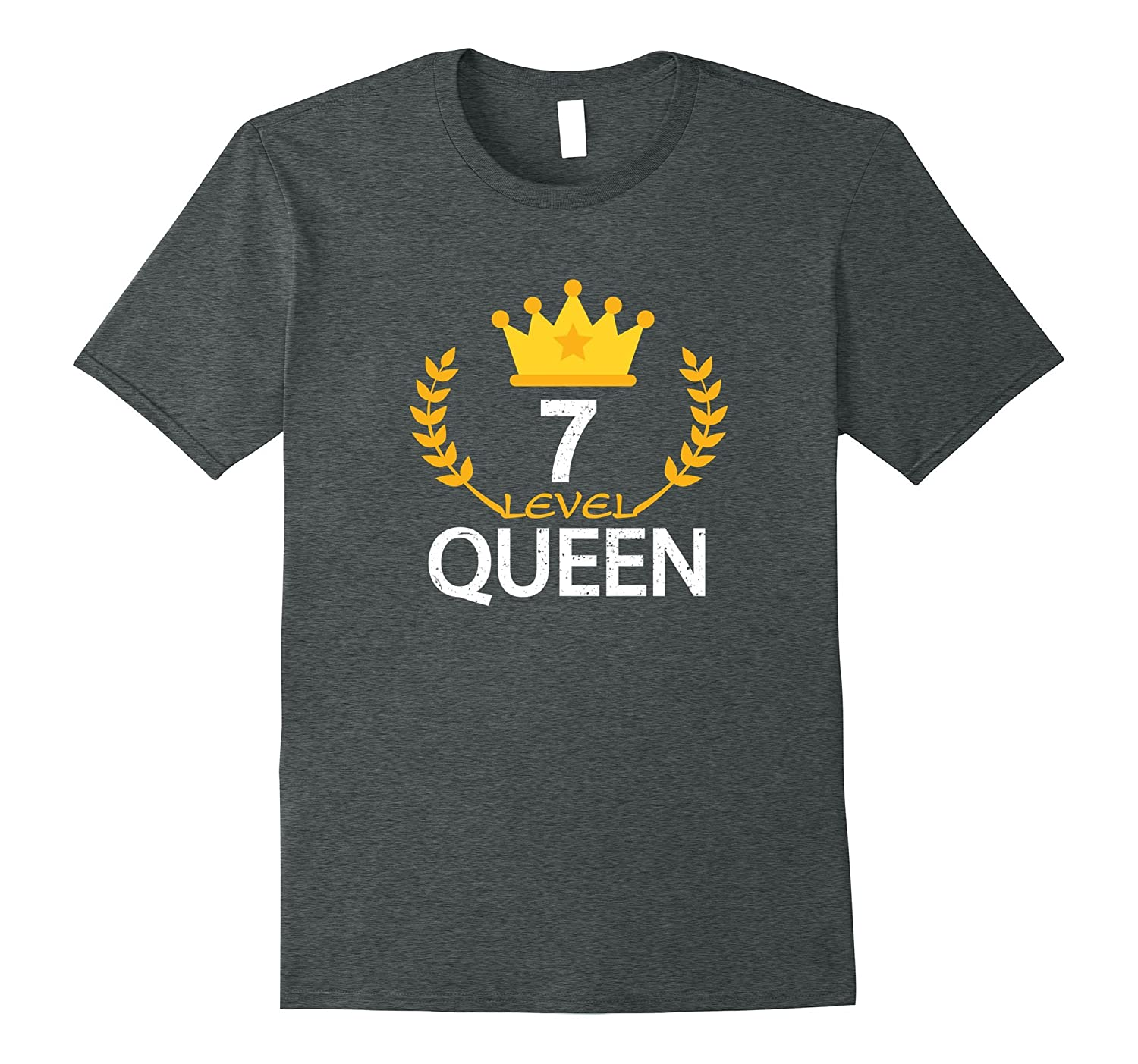 Funny 7th Birthday 2010 Gifts T-shirt Kid Queen Vintage Tee