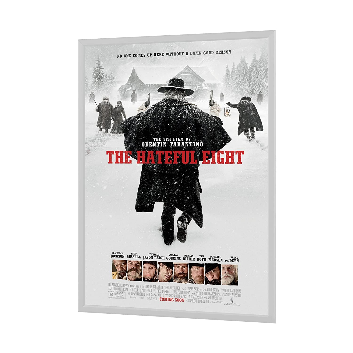 White Movie Poster Frame 24x36 Inches, 1.25\