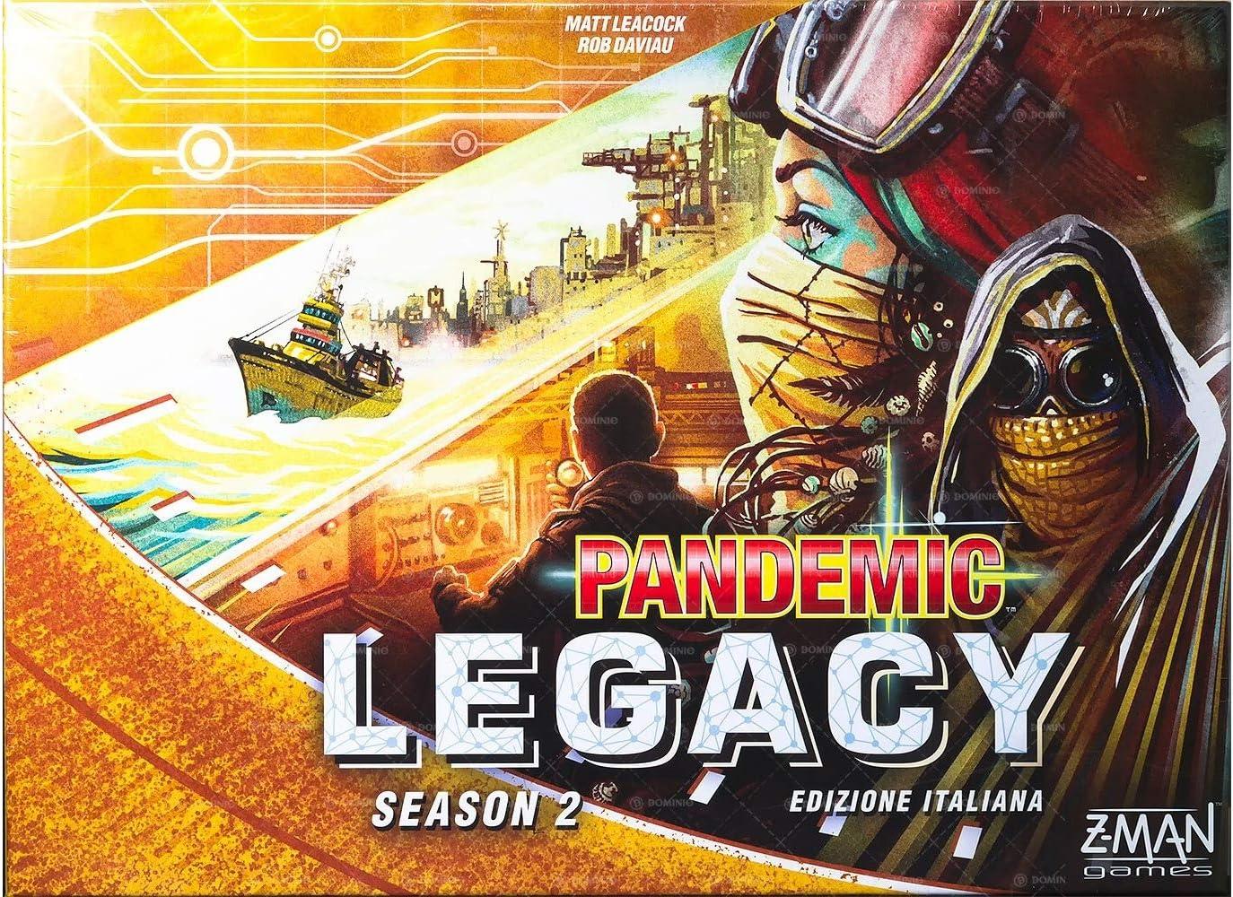 Asmodee Italia Pandemic Legacy Season 2 - Juego de Mesa, Color Amarillo, 8394: Amazon.es: Juguetes y juegos