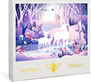 Ilov Puzel Jigsaw Puzzle Jigsaw Puzzles 1000 Pieces for Adults – Board Games – Perfect Fun Challenge for Adults, Kids 13+, and Teenagers. Great Gift for Christmas and Halloween!
