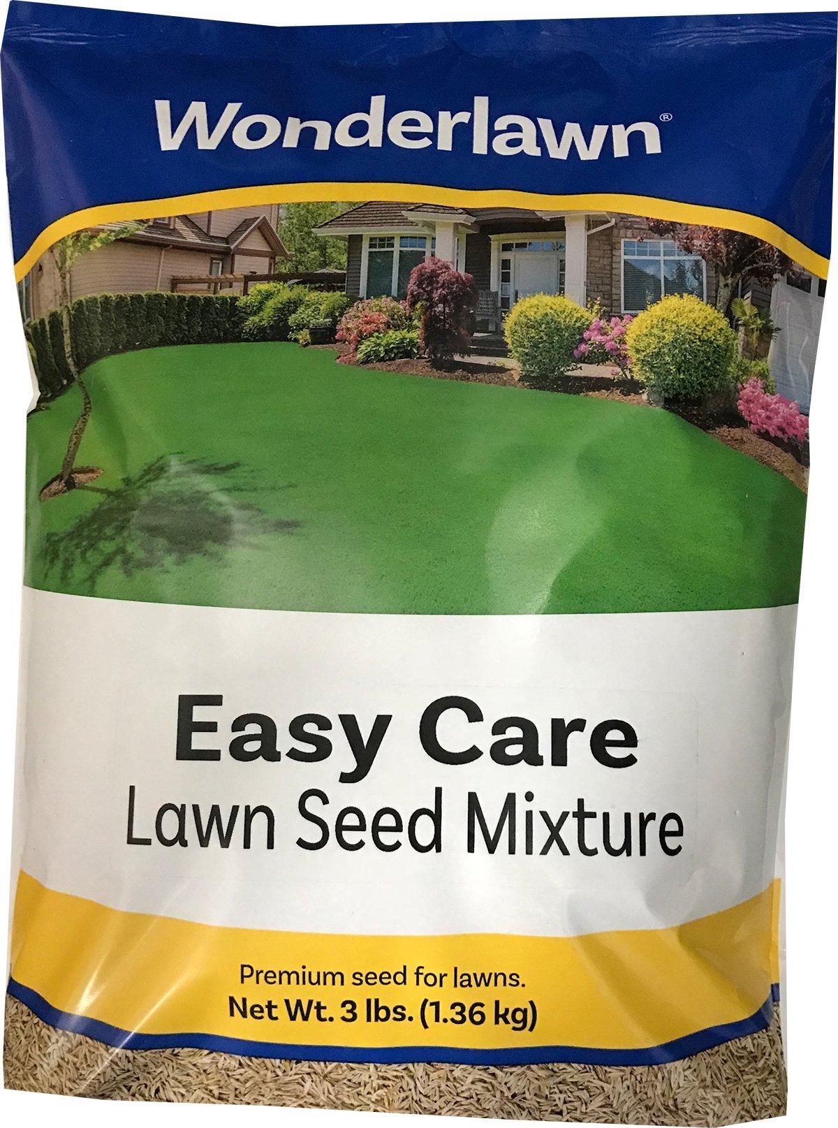 Wonderlawn 25462 EasyCare3North Lawn Seed Mixture, 3 lb