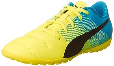 Puma EvoPower 4.3 TT Jr, Unisex-Kinder Fußballschuhe, Gelb (Safety Yellow-