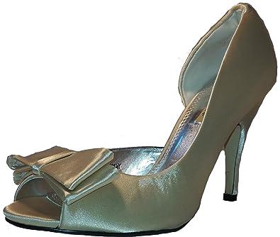 2b6535bfbe84 3-W-Hohenlimburg Stiletto Pumps High Heels Peep Toe Sandalen. Damenschuhe,  Schuh