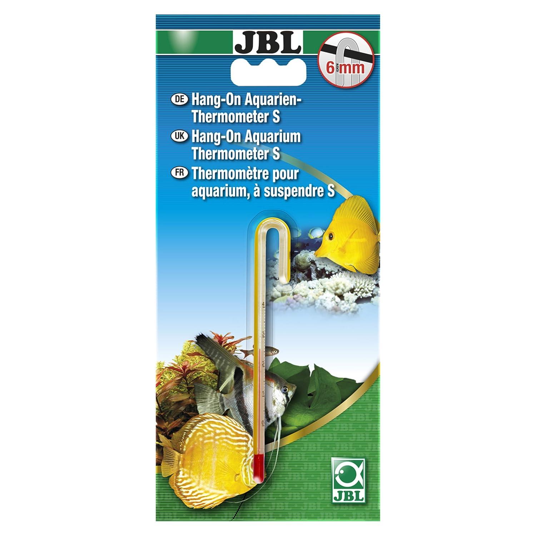 JBL Hang-on Aquarien-Thermometer L - Thermomètre de précision à suspendre pour vitres d'aquarium de 6 mm 6121300