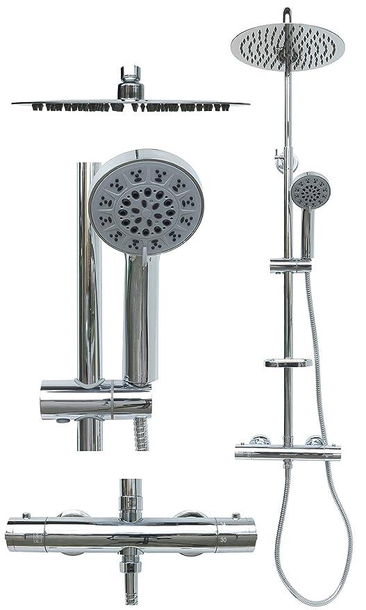Termostato ducha Set - Sistema de ducha Ducha Ducha grifo ...