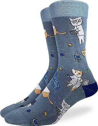 Good Luck Sock Men's Cat Socks